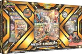Pokemon TCG: Premium Collection Box, Either Mega Camerupt-EX or Sharpedo-EX - $32.91