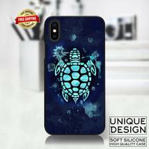 Cute Sea Turtle Phone Case Samsung Galaxy S10 S9 Huawei iPhone Case Gift... - £8.26 GBP
