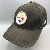 Pittsburgh Steelers NFL Football Lightly Distressed Baseball Hat Cap Strapback - £14.76 GBP
