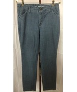 LEE Women's Blue Slim Straight Leg Tailored Chino Pants Size 10 M - $9.56