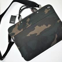 Jack Spade briefcase camouflage computer wax-wear - $286.56