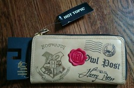Harry Potter Hot Topic Owl Post Zippered Wallet NWT Purse - $19.80