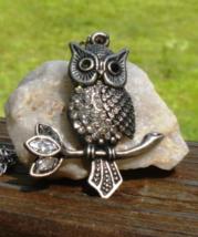 Vintage Owl Pendant - $20.00