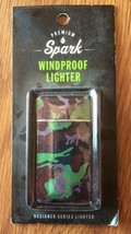 Premium Spark Windproof Lighter Designer Series Lighter - One Lighter