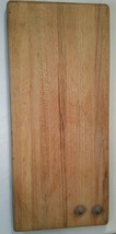 "Oak Cutting Board 21""x9""x1"" VGUC (BB) - $65.41"