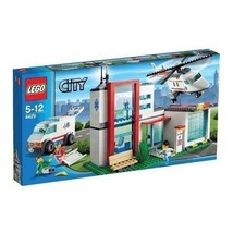 Lego City Town  #4429 Helicopter Rescue Base New Sealed HTF  - $278.52
