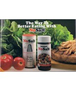 The Way to Better Eatting With NO SALT Recipe Cookbook 1984 - $3.99