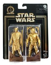 Mace Windu & Jango Fett Gold Commemorative Edition Skywalker Saga - New - $22.72