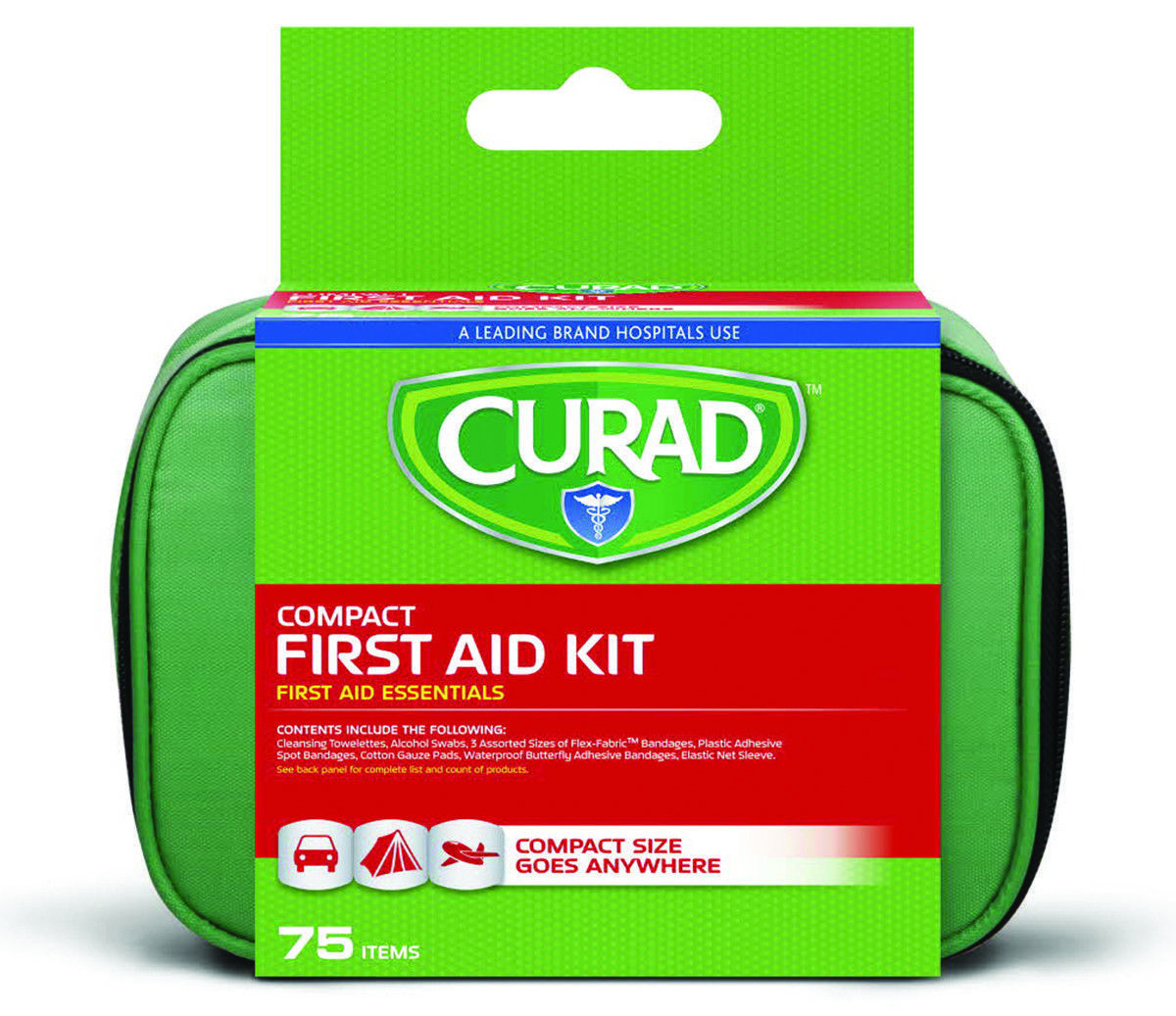 curad 70 piece compact first aid kit 5 1 2 and 50 similar items