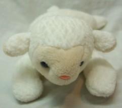 "TY Beanie Baby CUTE WHITE LAMB SHEEP 8"" Bean Bag Stuffed Animal Toy - $14.85"