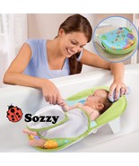 DUDU&DIDI® Collapsible Baby Bath Bed Tub Chair Towels Safe And Comfortable - $23.18