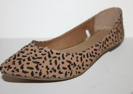 Gap NWT 6 Animal Leopard Speckled Canvas Ballet Flats w/ Toe Seams - $33.43