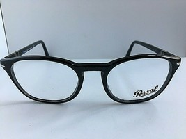 New Persol 3007-V 95 50mm Black Rx Men's Eyeglasses Frame Italy - $149.99