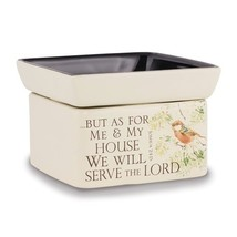 As for Me and My House - Joshua 24:15 Jar Candle, Wax & Oil Warmer - $31.99