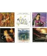 Lot of 6 CDs Tribute Beatles Elvis Leonard Cohen Celine Dion Gloria Estefan - $2.99