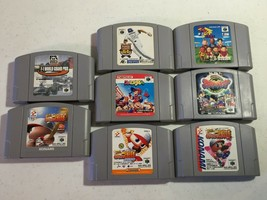 Japanese Nintendo 64 N64 Game bundle lot of 8 games pro baseball power league... image 1