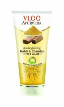 VLCC Ayurveda Skin Brightening Haldi & Chandan Face Wash 100 Ml - $12.26
