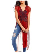 Free People Love Song Embroidered Tunic - $119.99