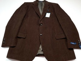 Dockers 48L Brown Corduroy Men's Sport Coat Blazer Jacket 48 Long NEW NWT - $59.99