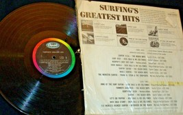 Surfing's Greatest Hits Capitol Record T1995 AA-192005 Collectible image 2