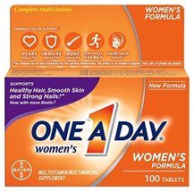 One-A-Day Women's Multivitamin Tablets, 100 Count image 3
