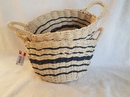 Weaving Baskets,Set of 2-1basket 8 inches and1 basket 9.5 inches,MADE O... - $16.48