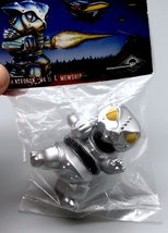 Max Toy Metallic Silver Mini Mecha Nekoron - Mint in Bag image 2