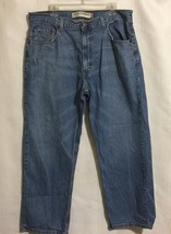 Levi 569 Mens Size 36 Loose Straight Distressed Jeans - $24.74