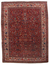 Hand made antique Persian Sultanabad rug 9.10' x 13' (303cm x 396cm) 188... - $10,270.00