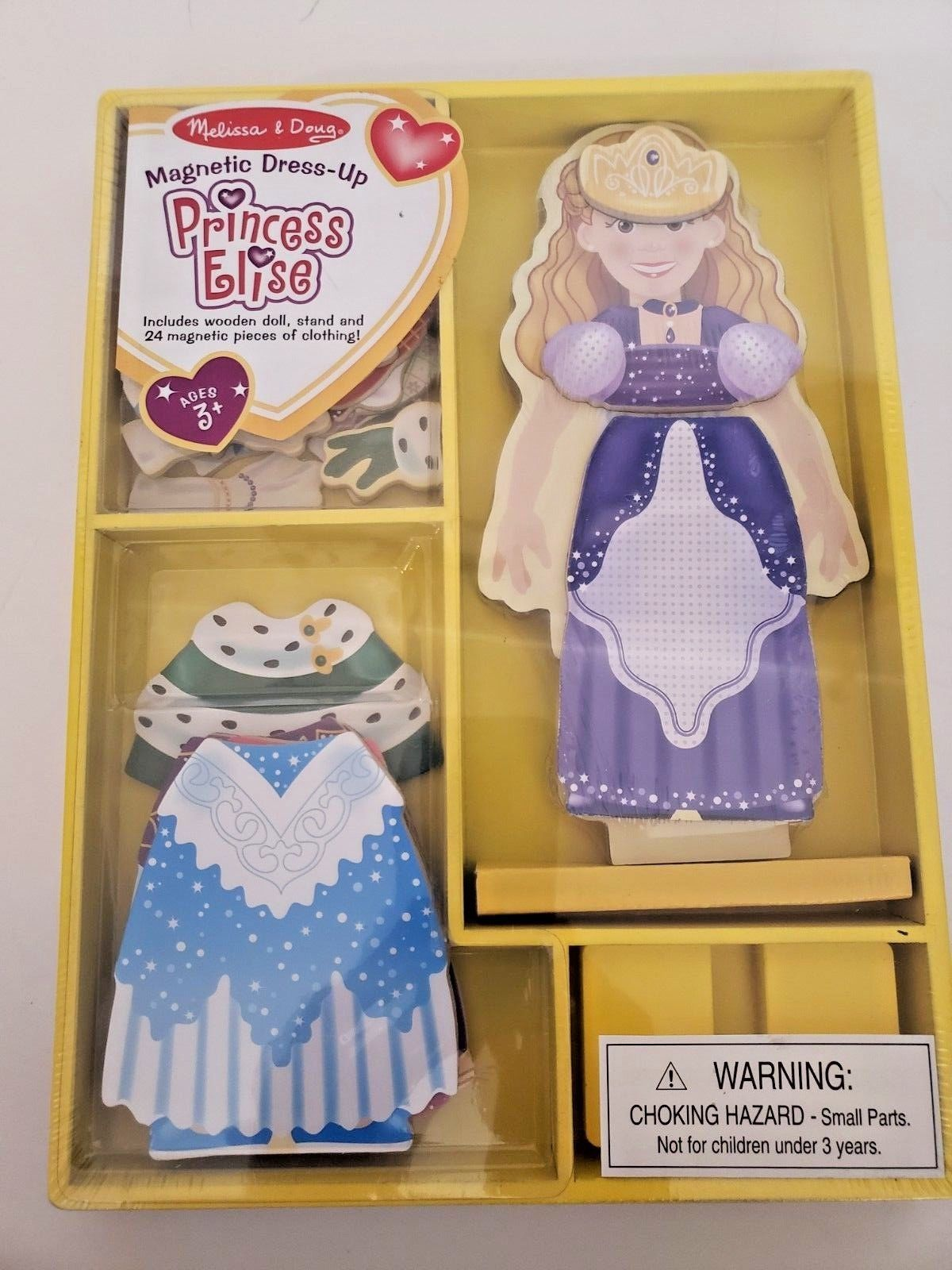 Melissa and Doug Brand New Magnetic Dress up...Princess Elise!!! image 2