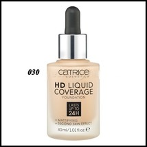 Catrice HD Liquid Coverage Foundation 30ml Lasts Up to 24H # 030 Mattifying - $17.80