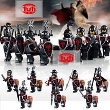 8pcs Centaur Dragon Knights Medieval Castle Red Dragon Figure Blocks Lego Toys - $2.99+
