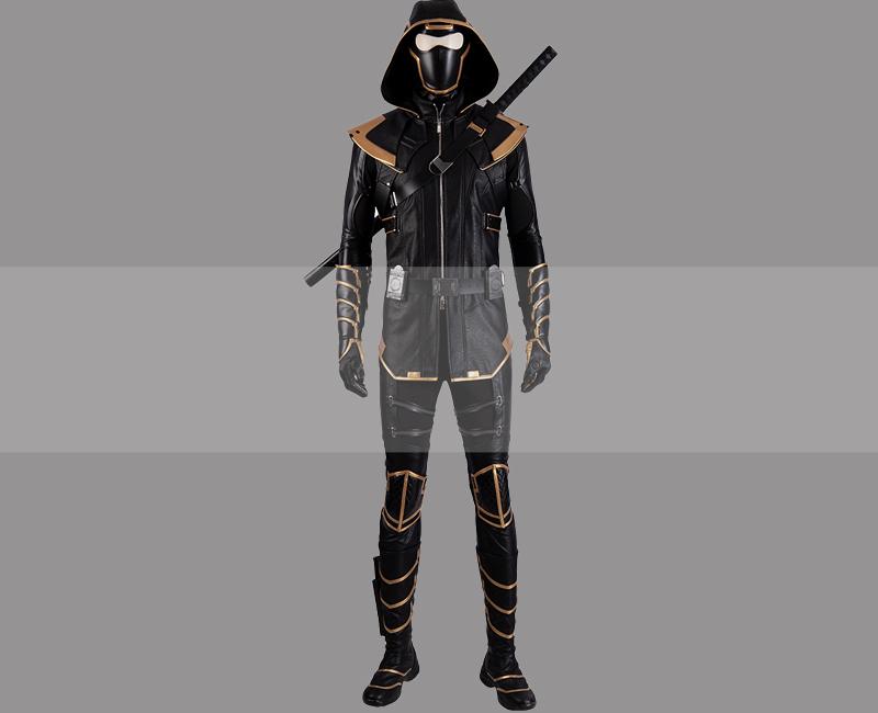 Avengers endgame clint barton hawkeye vigilante uniform cosplay costume buy