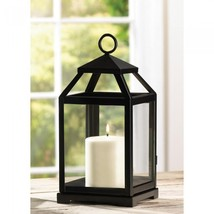 CONTEMPORARY CANDLE LANTERN - $31.00