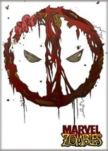 Marvel Zombies Deadpool Eyes Logo Art Image Refrigerator Magnet NEW UNUSED - $3.99
