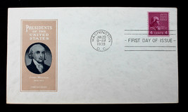 US Stamp Sc# 843 FDC U/A 1939 Presidential Series Horizontal Coil HARRY ... - $29.99
