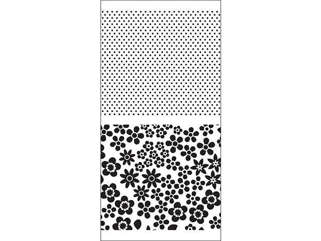 Doodlebug Design- 2 Pc Clear Background Stamp Set #SC0471