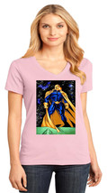 Doctor Fate District Made Ladies Perfect Weight V-Neck T-Shirt Size XS To 4XL - $19.99+