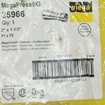 Viega MegaPress G 25966 Smart Connect Technology Reducer Carbon Steel image 4
