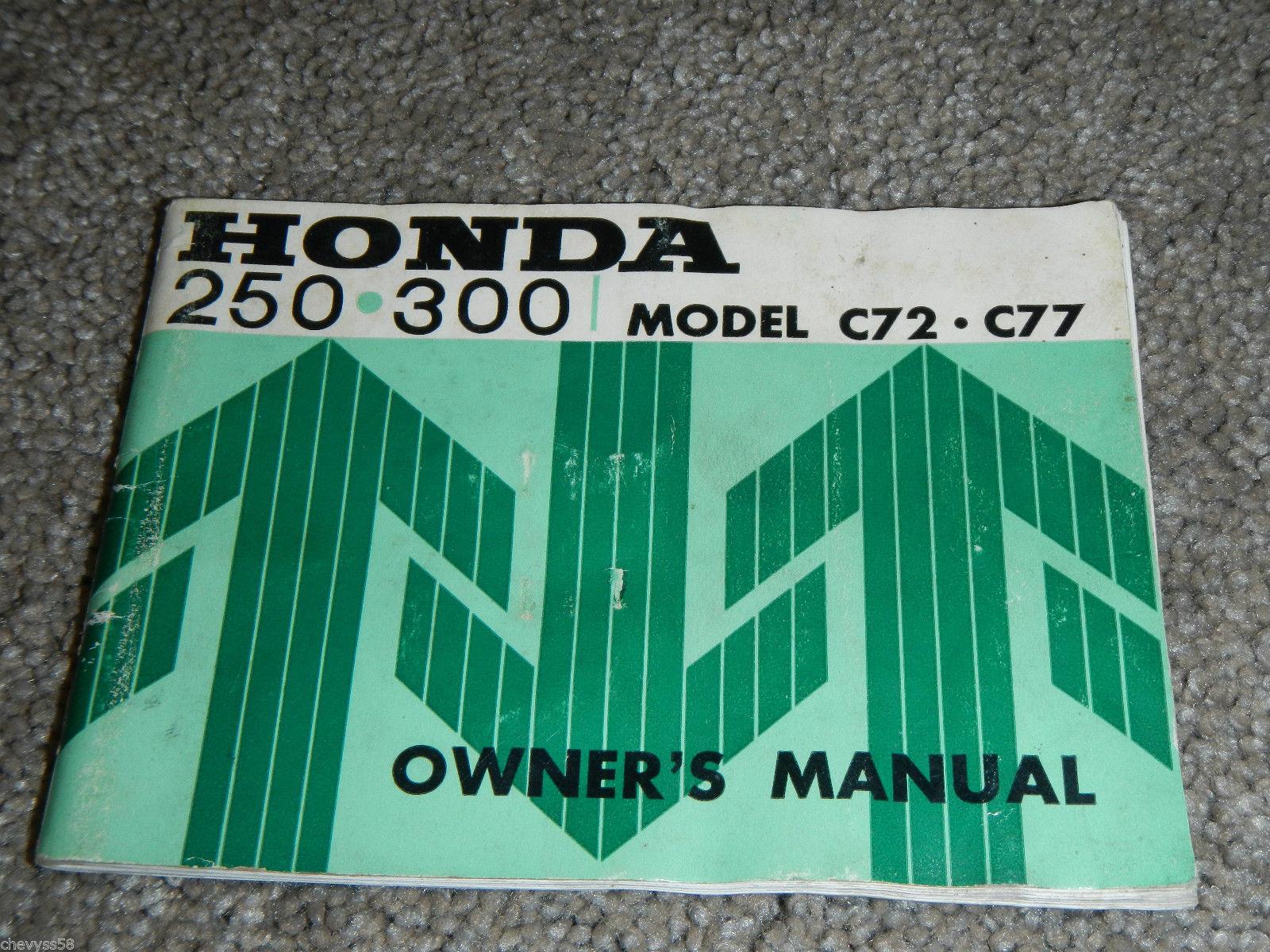 1961 1964? honda dream touring c72 c77 c 72 and 50 similar itemshonda dream touring c72 c77 c 72 77 250 owner owners owner\u0027s manual