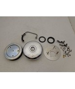 1993-1998 Harley Davidson FLH FXR Softail Dyna BACKPLATE AIR CLEANER HER... - $89.95