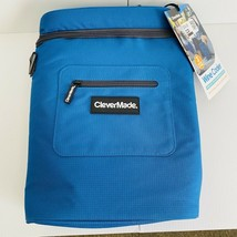 CleverMade Wine Cooler Insulated Cold Pack Wine Opener & Shoulder Strap ... - $17.81