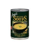 Amy's Organic Low Fat Split Pea Soup 14.1 oz ( Pack of 6) - $29.69