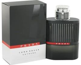 Prada Luna Rossa Extreme Cologne 3.4 Oz Eau De Parfum spray image 2