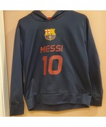 Lionel  Messi #10 FC Barcelona FCB hoodie. Perfect shape, like new. Yout... - $26.00