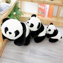 1PC Lovely Baby Big Giant Panda Bear Plush Stuffed Animal Doll Panda Animals Toy image 3