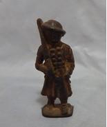 Vintage Cast Iron Soldier Figure - $13.86