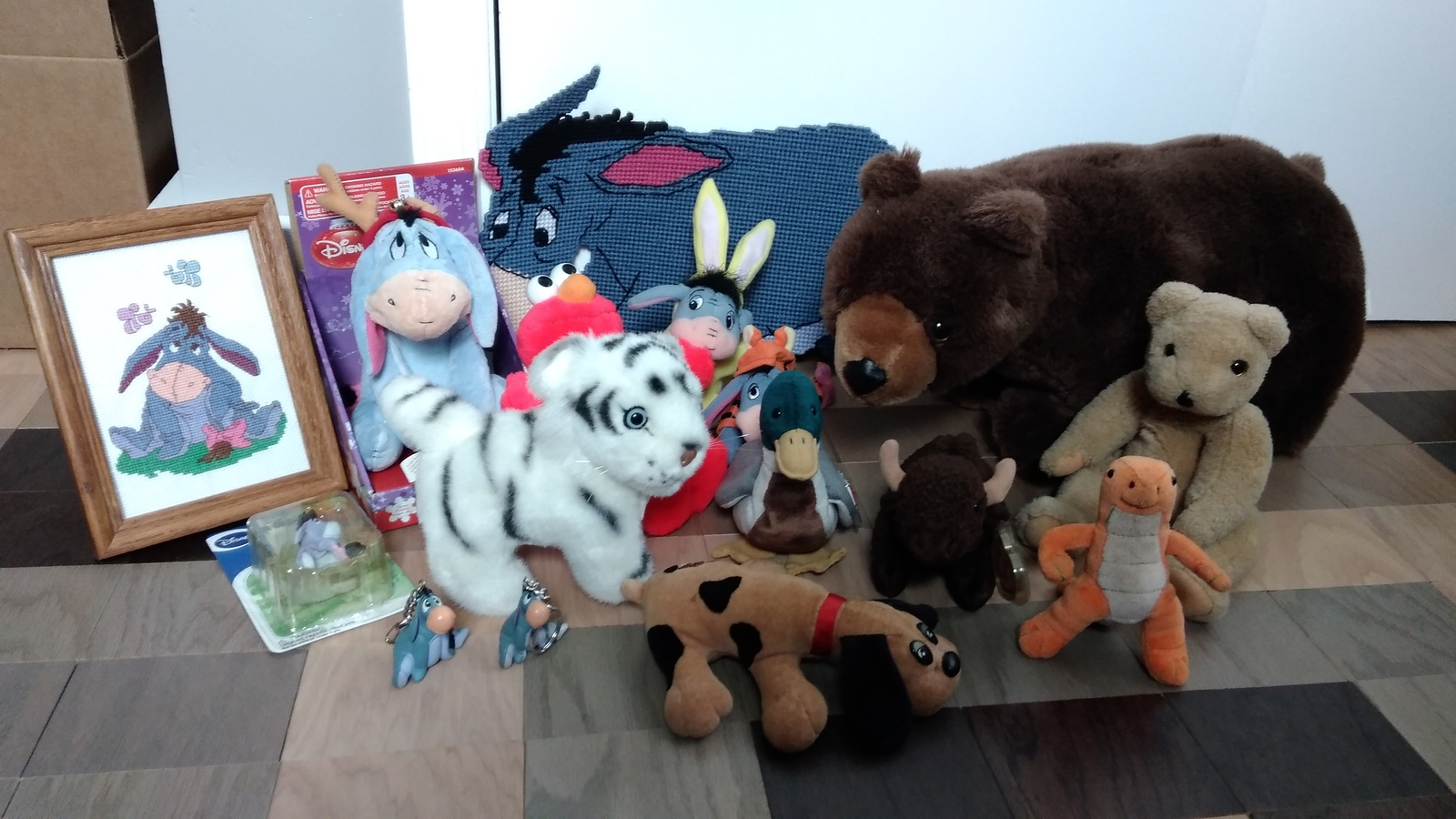 Eeyore and friends stuff animals 15 pcs - $35.00