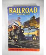 Vintage Railroad Magazine September 1946 Train on Cover - $14.80