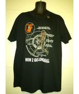 Baltimore Orioles How 2 Go Longball Men's XL Black T Shirt MLB Baseball - $14.67